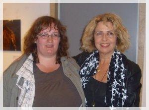 Mit der Schauspielerin Michaela May